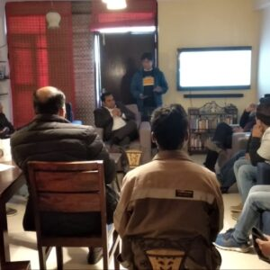 Alumni met together to discuss about updates